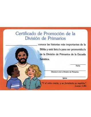 Primary Promotion Certificate (Spanish) (10)
