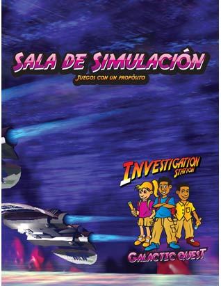Galactic Quest VBS - Simulation Room Leader's Guide (Games) Spanish