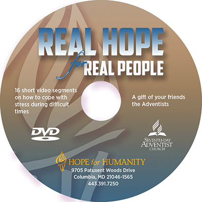 Hope for Humanity English DVD