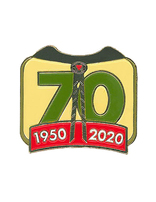 Pathfinder 70th Anniversary Pin