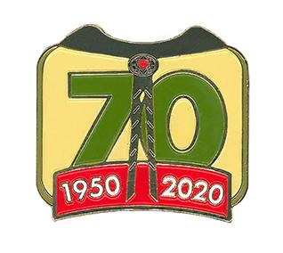 Pathfinder 70th Anniversary Pin
