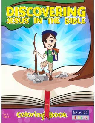 Discovering Jesus in the Bible - Coloring Book