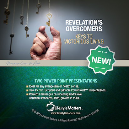 Revelation's Overcomers:  Victorious Living - USB Flash Drive