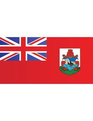 """Bandera de Bermudas 36"""" x 60"""" (Interior)"""