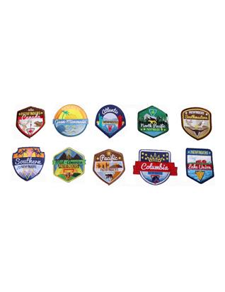 Oshkosh 2019 Union Patches