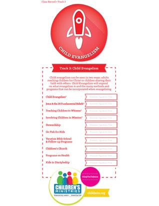 Children's Ministries Certification Card