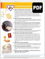 Helping Hand Communion Award - PDF Download