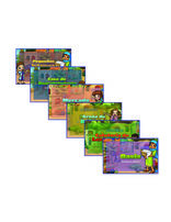 Heroes VBS Station Posters (Set of 6) (Spanish)