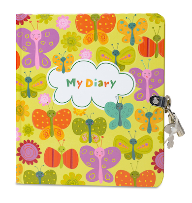 EAC 1-4 - Diary with lock and key