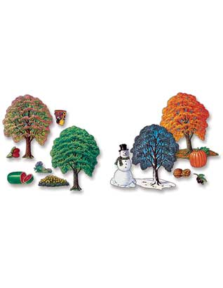 Seasonal Tree Felts