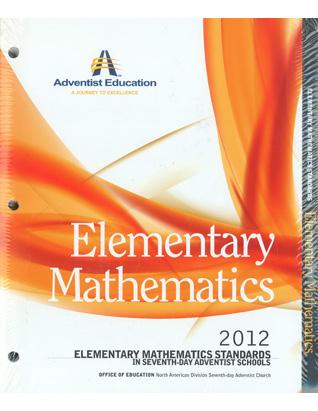 Elementary Math Standards Folder
