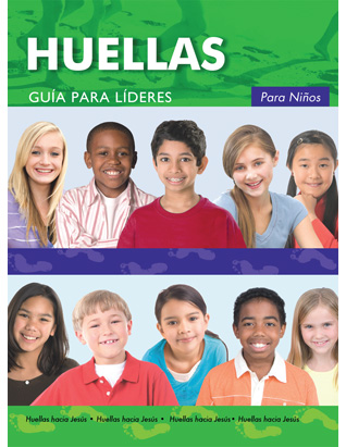 Footprints for Kids Leaders Guide w/CD (Spanish)