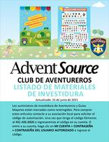 Adventurer Investiture Order Form - Spanish