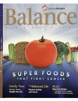 Super Foods that Fight Cancer - Balance Magazine (Pack of 50)