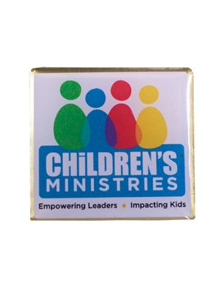 Children's Ministries Lapel pin