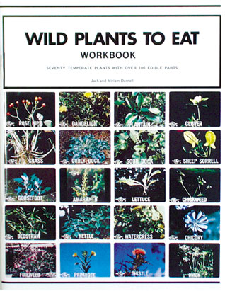Libro de trabajo de las Plantas Silvestres Comestibles (Solo en Inglés)