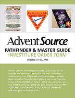Pathfinder Investiture Order Form