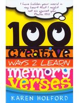 100 Creative Ways 2 Learn Memory Verses