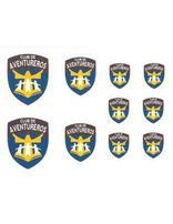Pegatinas del logo de los Aventureros