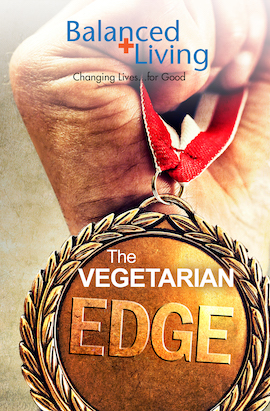 The Vegetarian Edge - Balanced Living Tract (Pack of 25)