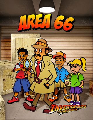 The Genesis Factor VBS: Area 66 Guide (Bible Story) English