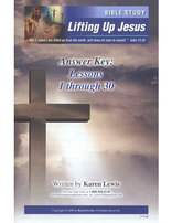 Lifting Up Jesus - Bible Study
