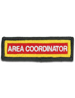 Staff Sleeve Strip - Area Coordinator