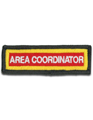 Staff Sleeve Strip - Area Coordinator
