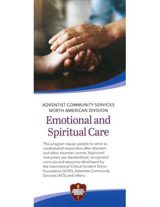 Adventist Community Service Brochure - Emotional & Spiritual Care