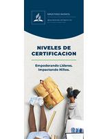 Folleto Cursos de Certificación en el Ministerio Infantil