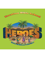 Heroes VBS Display Panel for ABCs