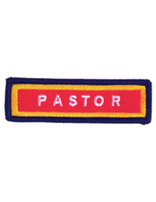 Staff Sleeve Strip - Pastor