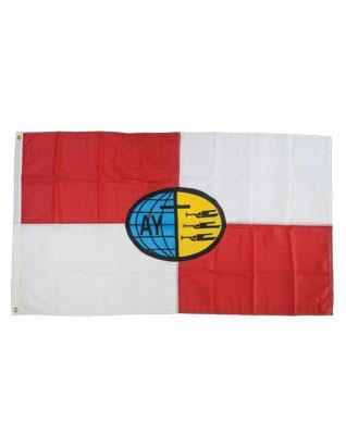 Bandera de Jóvenes Adventistas (Exterior)