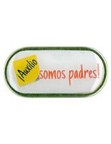 ¡Auxilio, somos padres: Pin de solapa en español