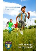 Because Jesus Loves Me Bulletin Cover Package of 100
