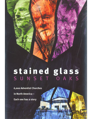 Stained Glass Sunset Oaks