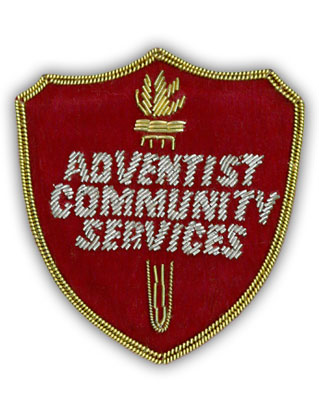 Adventist Community Services Pocket Name Tag