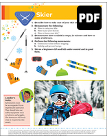 Helping Hand Skier Award - PDF Download