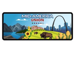Parche rectangular para Conquistadores   Mid America Union 2020
