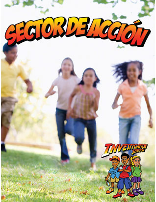 Investigation Station VBS Action Sector Leader's Guide (Games) (Spanish)