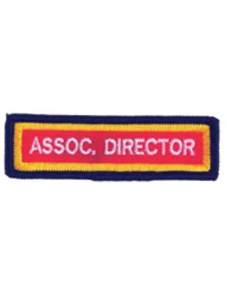 Tira de Distintivo de Cargo-Director Asociado