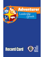 Tarjeta de registro Adventurer Leadership Growth