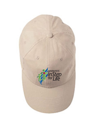 Adventists InStep for Life Cap - Twill