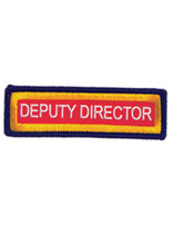 Staff Sleeve Strip - Deputy Director