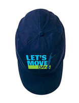 Let's Move Cap - Navy