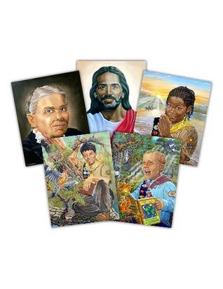 Copias de Arte para el salón de Conquistadores