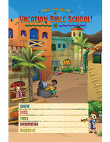 Heroes VBS Promotional Posters (Set of 5)