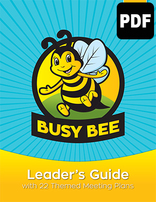 Busy Bee Leader's Guide - PDF Download