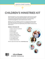 Quick Start Guide Children's Ministries Kit