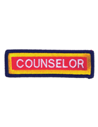 Staff Sleeve Strip - Counselor